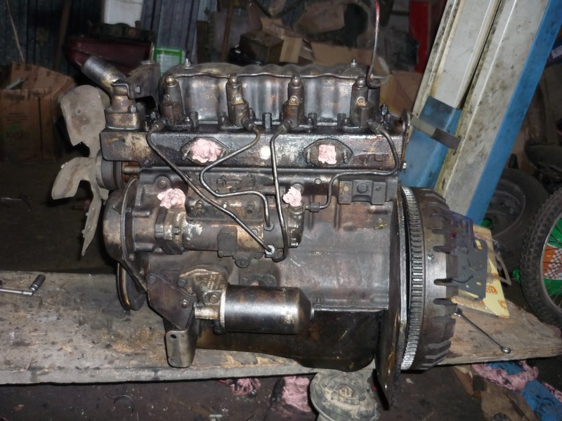 restauration - Restauration de mon Massey 825 (1961, moteur Perkins A4.107) Remont14