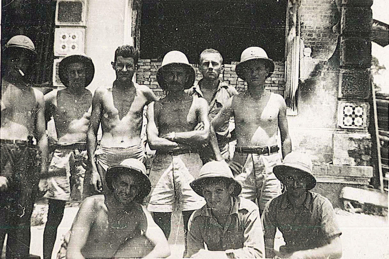 PHOTOS SOLDATS COCHINCHINE 1947/1952 1ER RIC 2EME RIC 3EME RIC 20111120