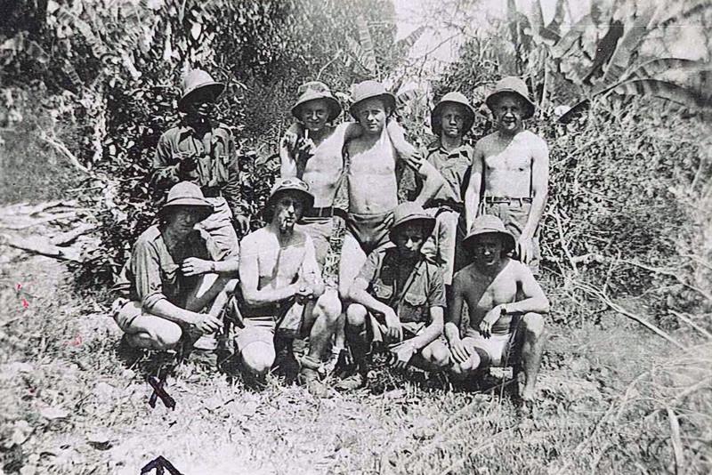 PHOTOS SOLDATS COCHINCHINE 1947/1952 1ER RIC 2EME RIC 3EME RIC 20111121