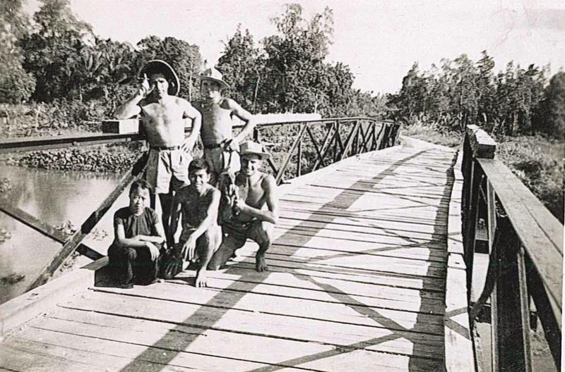PHOTOS SOLDATS COCHINCHINE 1947/1952 1ER RIC 2EME RIC 3EME RIC 2yme_s11