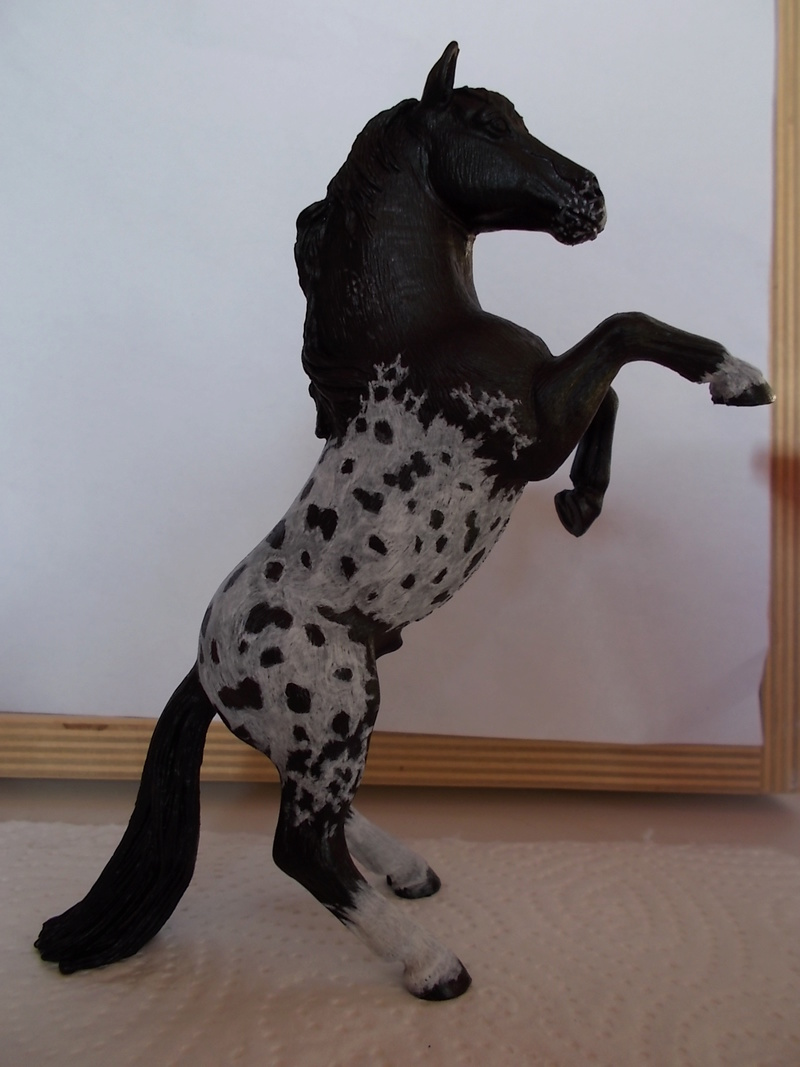 I started with repainting - Schleich horses - Page 2 Appalo14