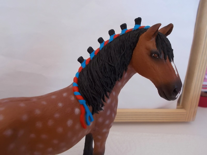 I started with repainting - Schleich horses - Page 3 Clydes12