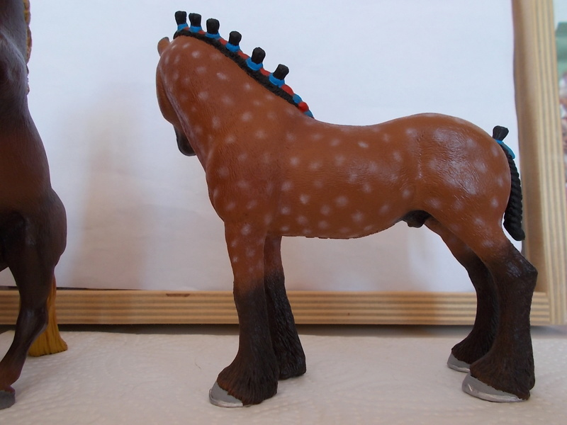 I started with repainting - Schleich horses - Page 3 Clydes13