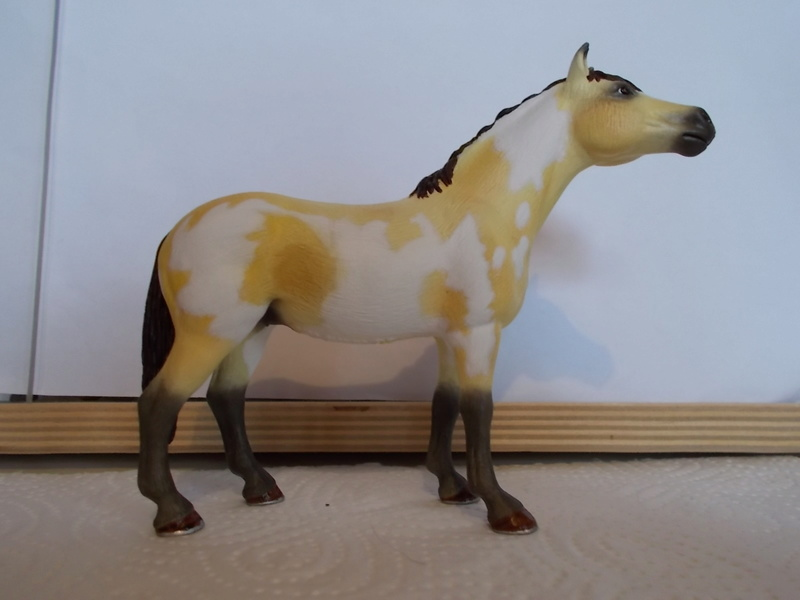 I started with repainting - Schleich horses - Page 2 Falben10
