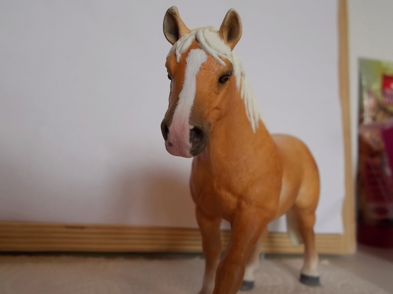 I started with repainting - Schleich horses - Page 2 Haflin10