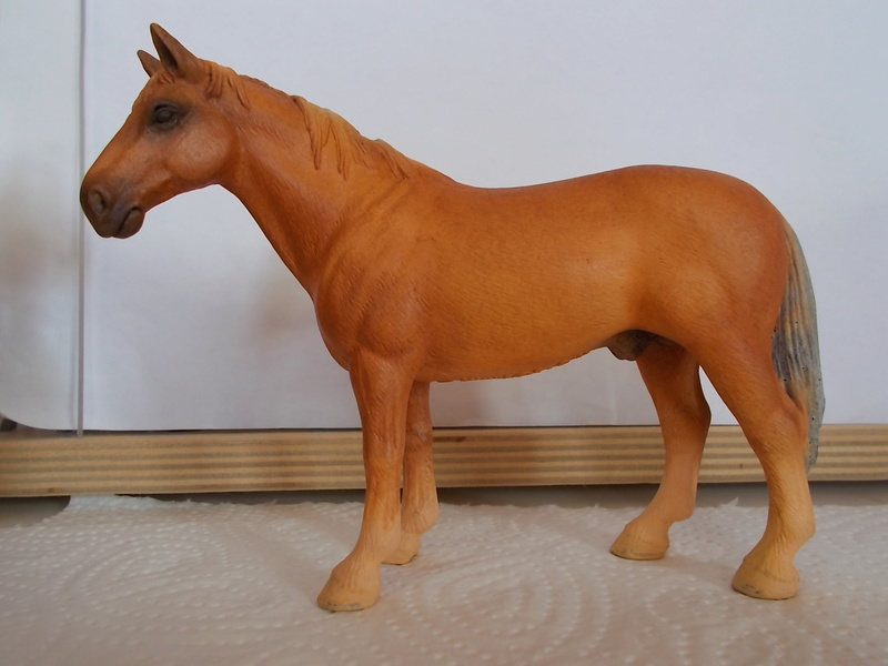 I started with repainting - Schleich horses - Page 2 Hanno_24