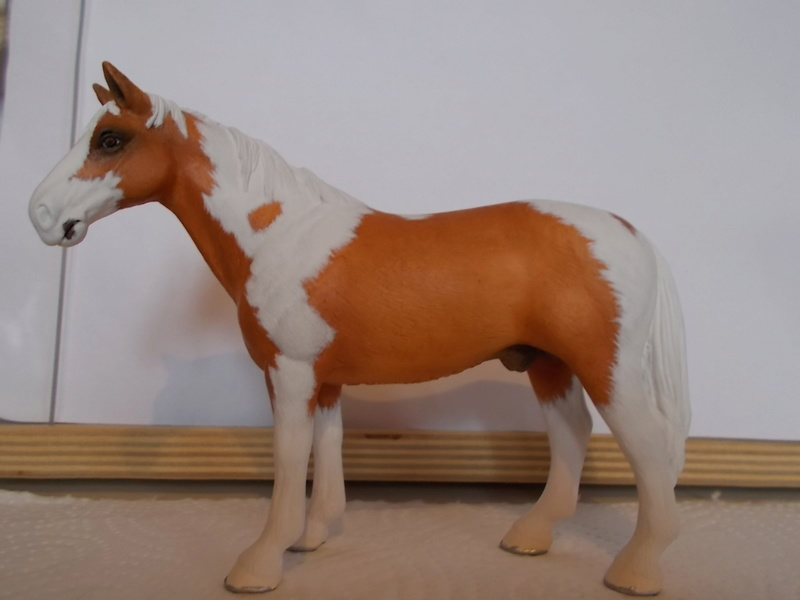 I started with repainting - Schleich horses - Page 3 Hanno_26