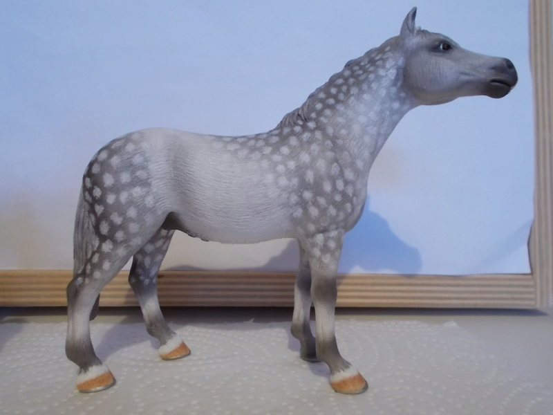 I started with repainting - Schleich horses - Page 2 Knabst12
