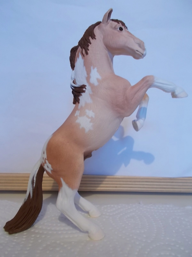 I started with repainting - Schleich horses - Page 2 Mustan37