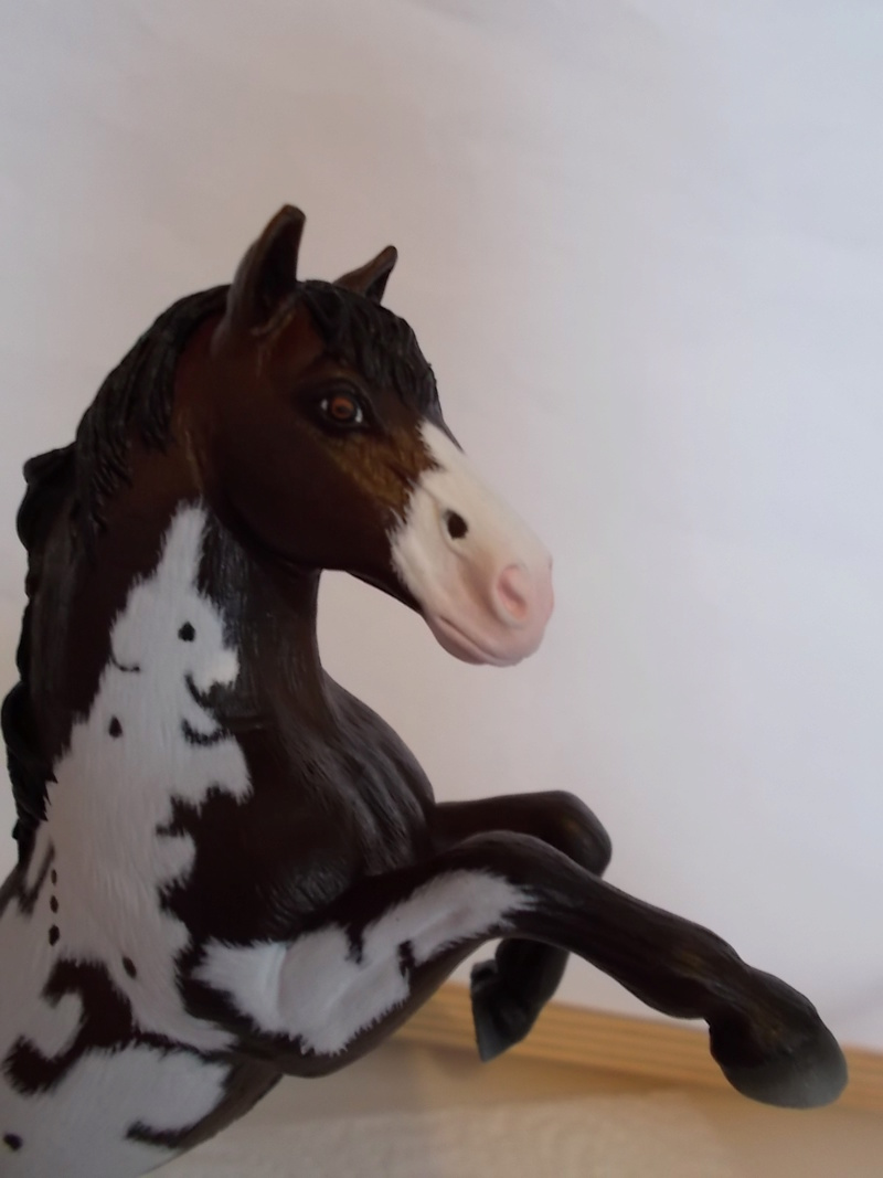 I started with repainting - Schleich horses - Page 3 Mustan50
