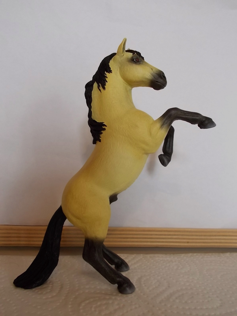I started with repainting - Schleich horses - Page 3 Mustan55