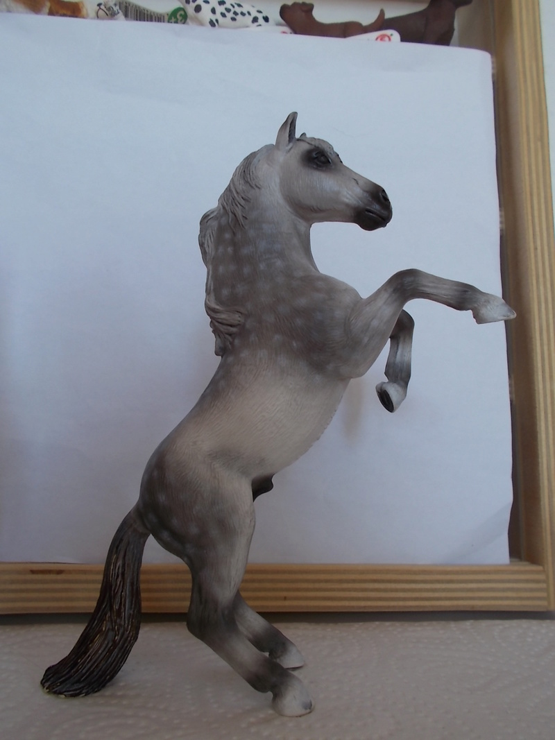 I started with repainting - Schleich horses - Page 3 Mustan68