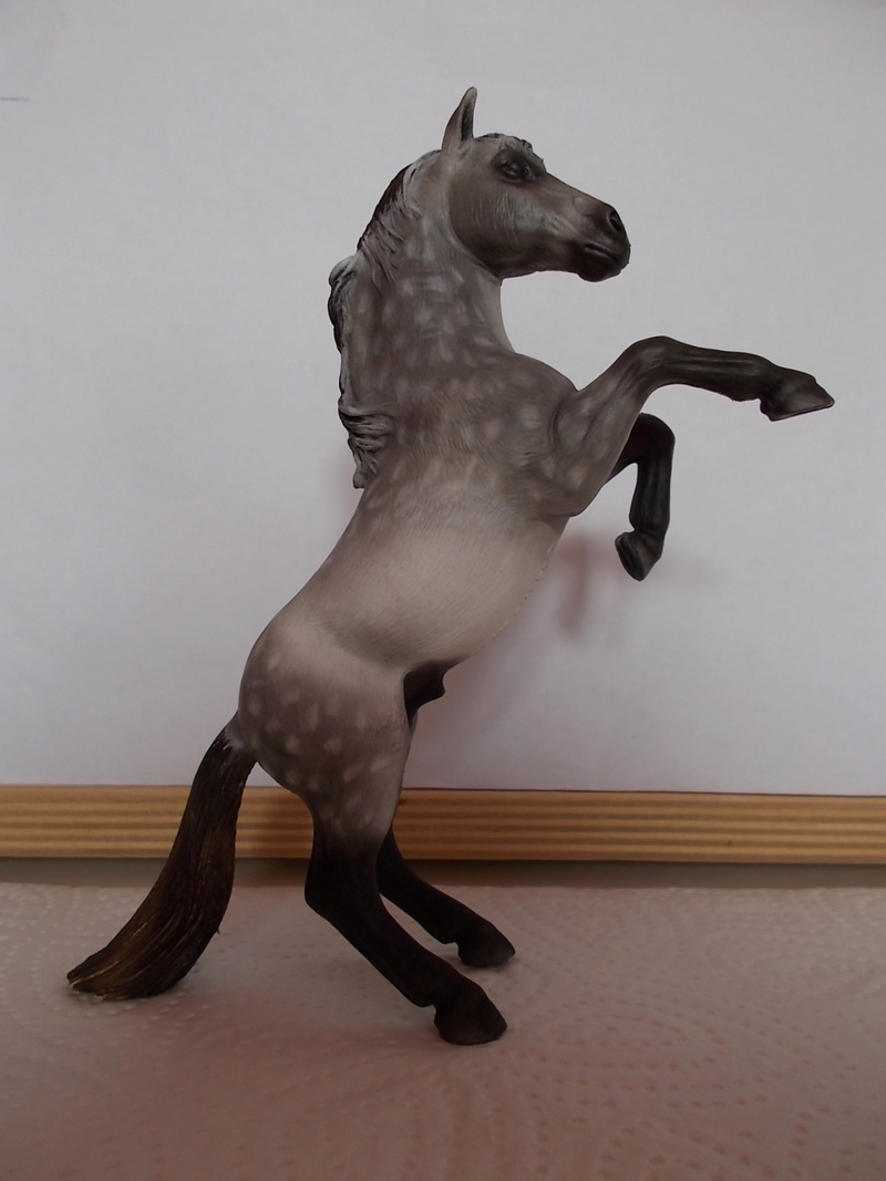 I started with repainting - Schleich horses - Page 3 Mustan71
