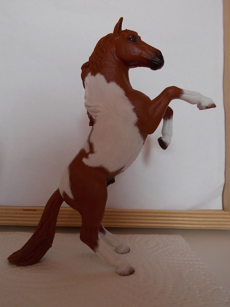 I started with repainting - Schleich horses - Page 3 Mustan72