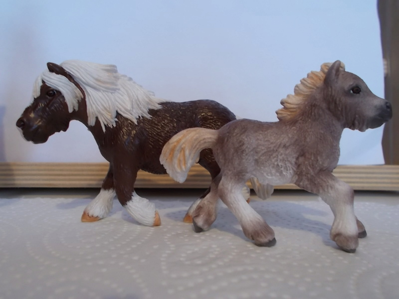 I started with repainting - Schleich horses - Page 2 Shetla10