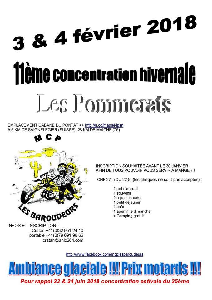 Hivernale du MCP LES BAROUDEURS  (SUISSE) les 3 et 4 février 2018 Baroud10