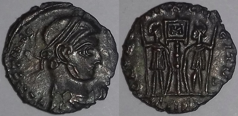 Imitation empereur Constans (323-350 AD). 20180321