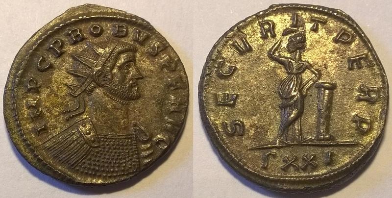 Probus - Aurelianus-Ticinium Wp_20119