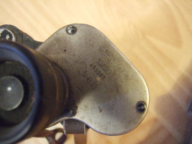 Jumelles 10x50 Wehrmacht. Dscf7713