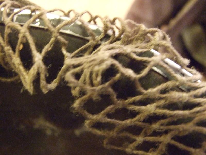 Filet sur casque US M1. Dscf7910