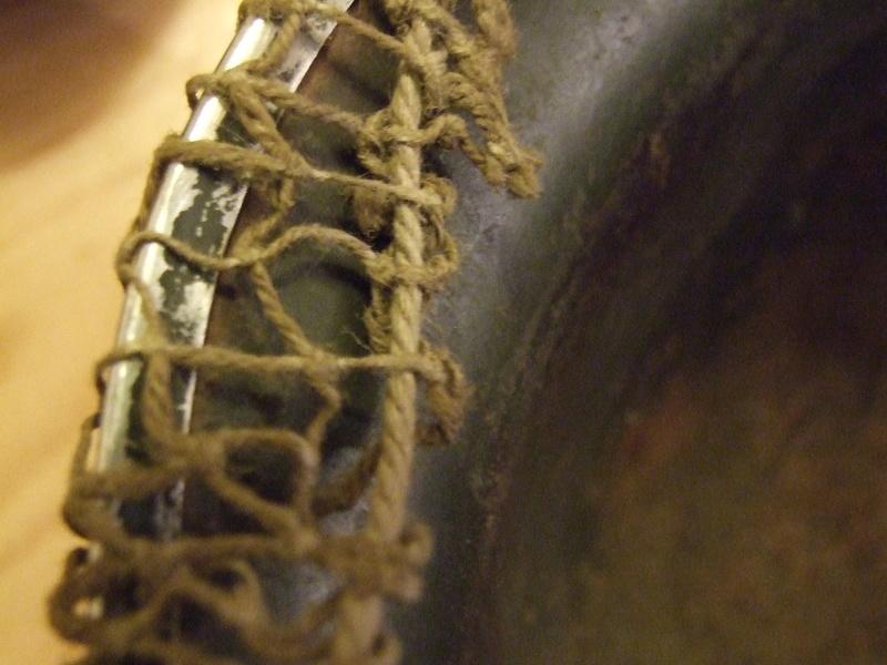 Filet sur casque US M1. Dscf7911