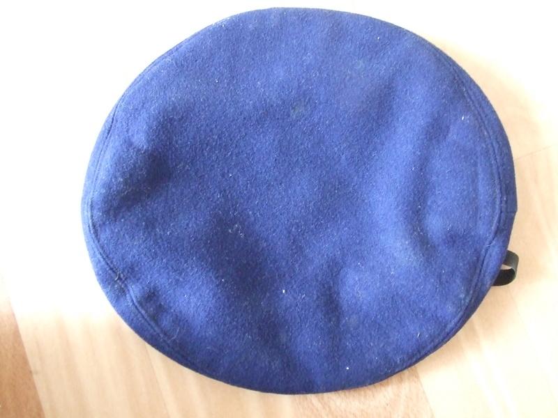 Béret multi pièces bleu roi ALAT identification et estimation. Dscf8422