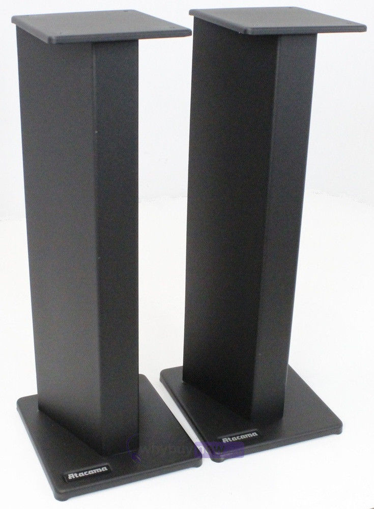 "(Sold) Atacama SE24 Speaker Stands 24"" _8610"