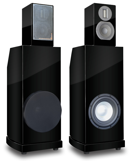Axis Voicebox S Monitors w/ Voicebox Extended Bass System Axis-v11
