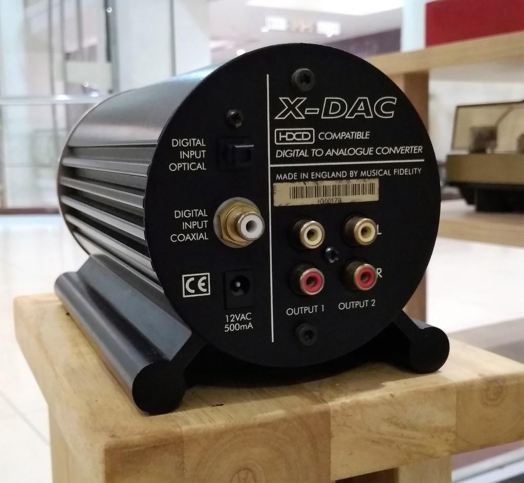 Musical Fidelity X-DAC Digital-to-Analog Converter Img_2062