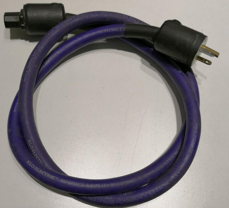 QED & XLO Power Cords Xlo210
