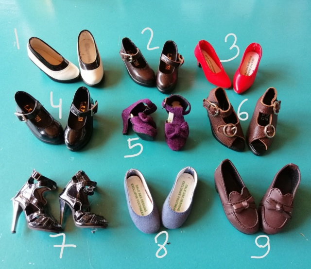 [V]Vêtements / Chaussures - Unoa / Minifee / MSD - NEW!17.01 Img_2034