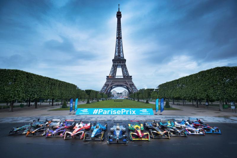 Grand prix de F1 électrique à Paris 34728810