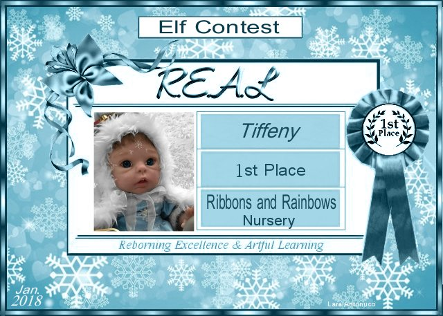 2018 Elf Contest Winner Logo - Tiffeny of Ribbons and Rainbows Nursery Elf_co10