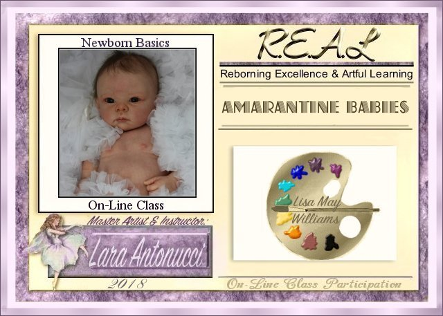 2018 AMARANTINE  Newborn Basics on-line class logo Lisa_m11