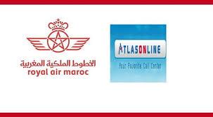 أطلس اون لاين/ الخطوط الملكية المغربية : مباراة لتوظيف 26 مستشار هاتف آخر أجل 27 اكتوبر 2017 Atlas-10