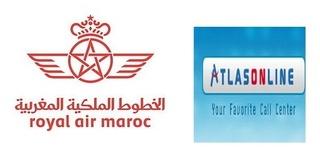 أطلس اون لاين/ الخطوط الملكية المغربية : مباراة لتوظيف 26 مستشار هاتف آخر أجل 16 يناير 2018  Atlas-12