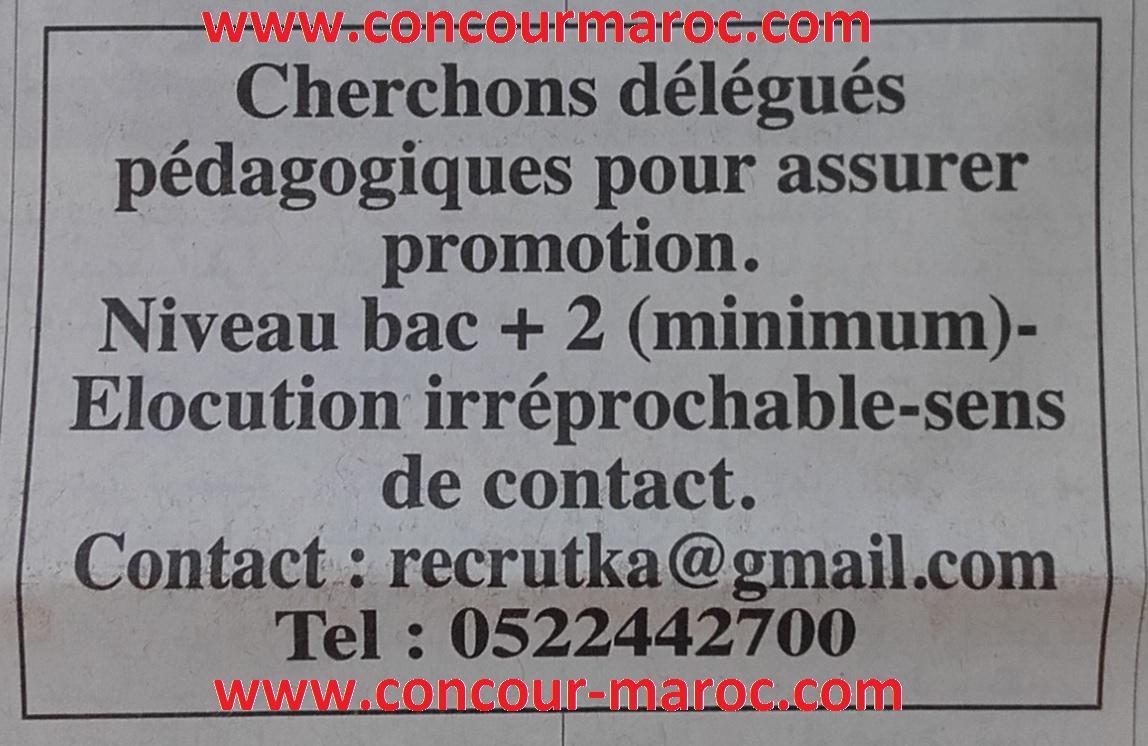 مكتبة دارالثقافة : توظيف المندوبين التربويين delegues pedagogiques بالدار البيضاء Daratt10