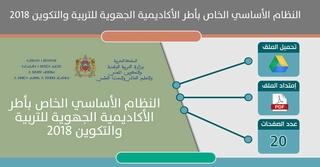 النظام الأساسي الخاص بأطر الأكاديمية الجهوية للتربية والتكوين بجهات المملكة Ooao_o10