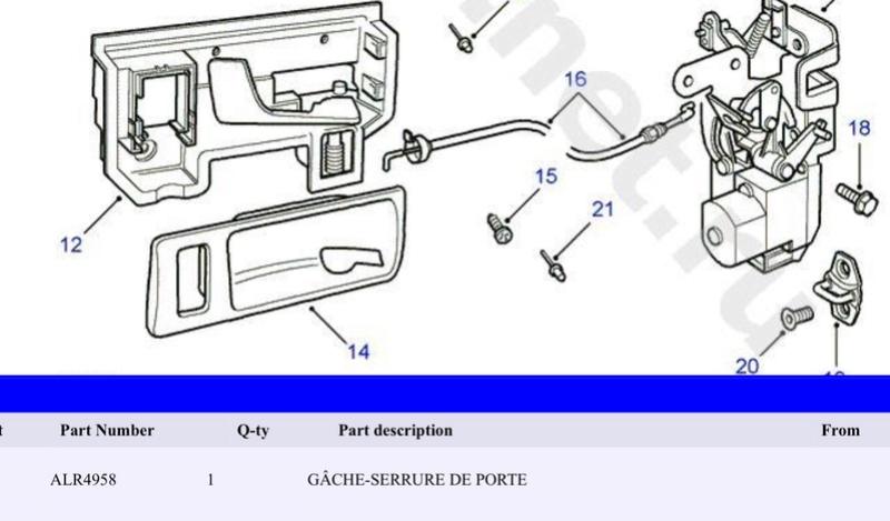 Partie fixe côté carrosserie  Image17