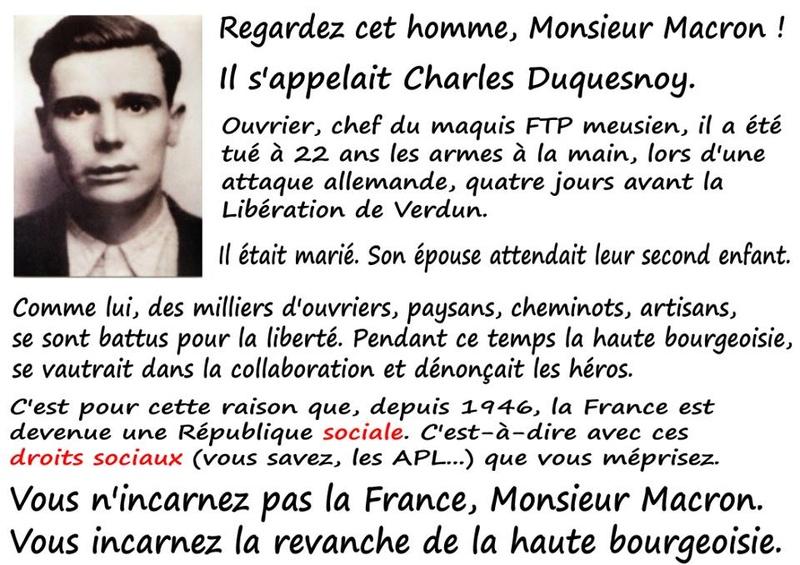 LA VIE SOUS MACRON  - Page 9 Macron10