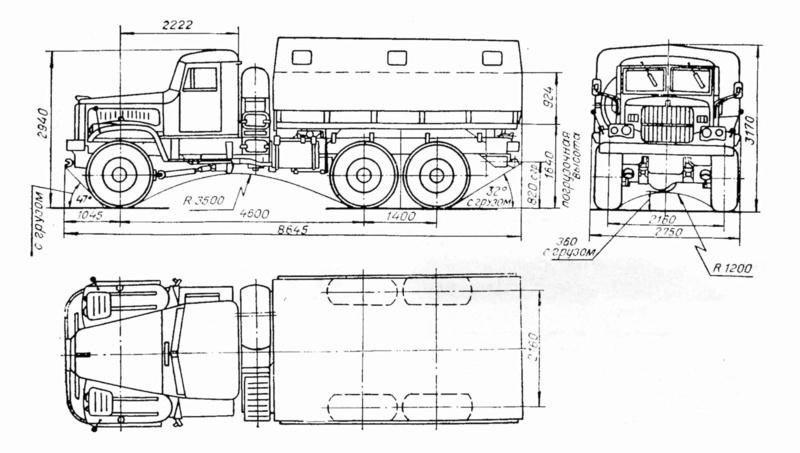 KraZ 255 B Kraz-211