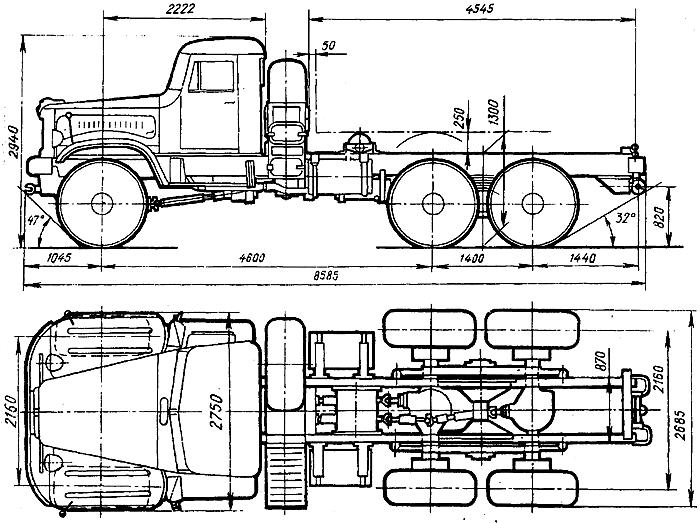 KraZ 255 B Kraz210