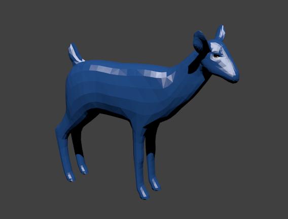 3D Modeling Deerbl10