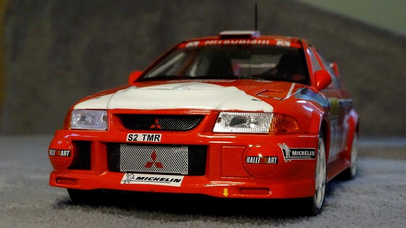 Lancer evo VI Rallye Monte Carlo 1999 Z1012