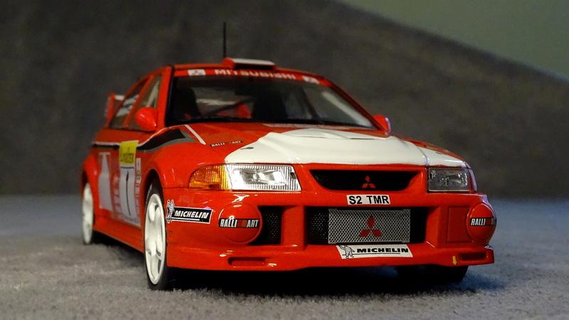 Lancer evo VI Rallye Monte Carlo 1999 Z111
