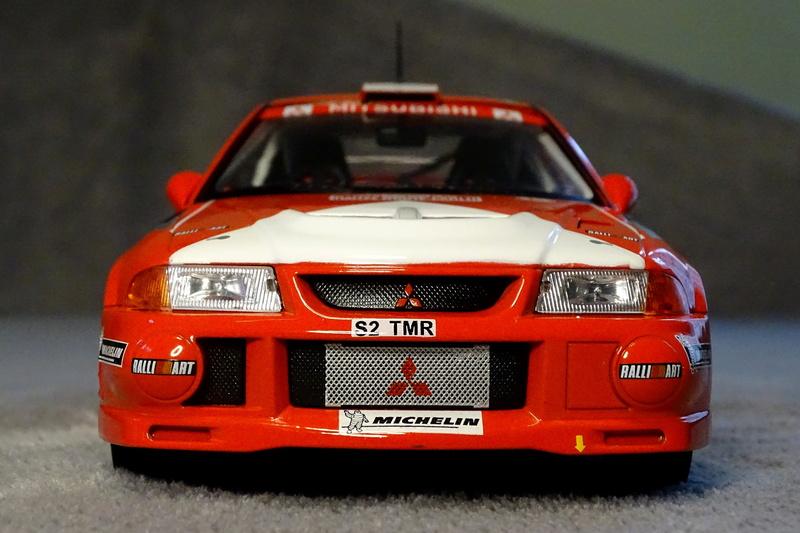 Lancer evo VI Rallye Monte Carlo 1999 Z211