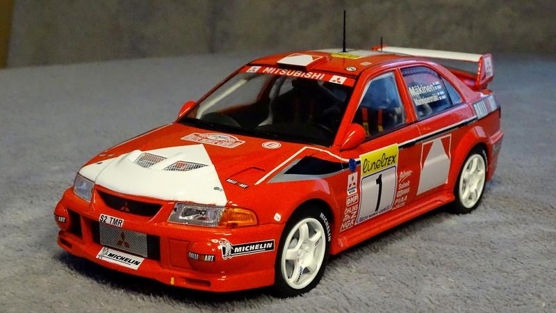 Lancer evo VI Rallye Monte Carlo 1999 Z311