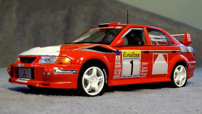 Lancer evo VI Rallye Monte Carlo 1999 Z411