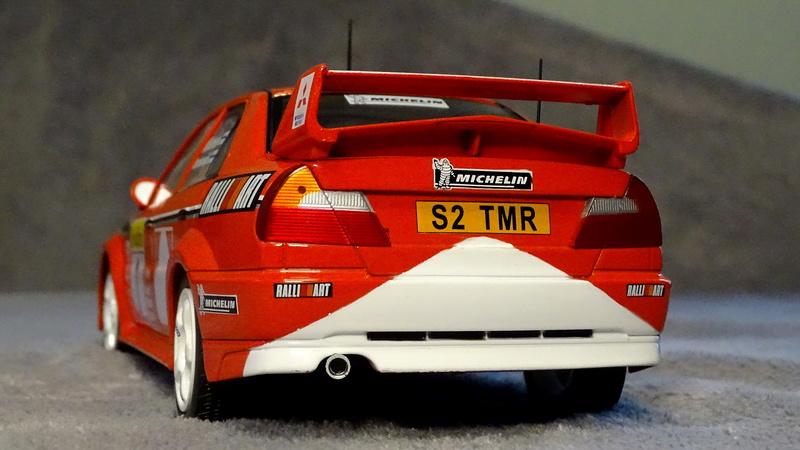 Lancer evo VI Rallye Monte Carlo 1999 Z511