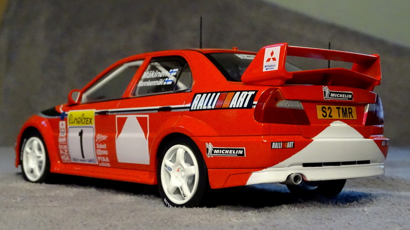 Lancer evo VI Rallye Monte Carlo 1999 Z711